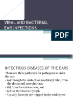 Infectious diseases in ears