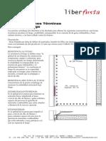 Especificaciones puerta Cortafuego