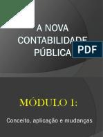 SLIDE Nova Contab Publica