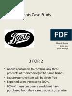 Boots Case Study Group 9 (Sec a)