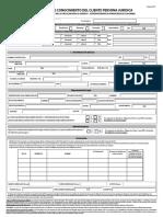 Formularioconocimientodelcliente_PJuridica_Digital sarlaft