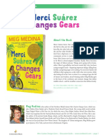 Merci Suárez Changes Gears by  Meg Medina Discussion Guide