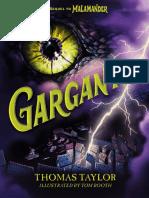 Gargantis by Thomas Taylor Author's Note