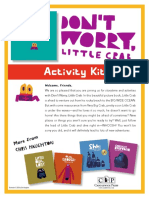 Don't Worry, Little Crab by Chris Haughton Activity Kit