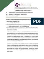 Disposición de No Ha Lugar y Archivo - Lic. Maria Fernndez