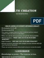 WEALTH CREATION