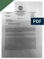 Dayton Jones letter