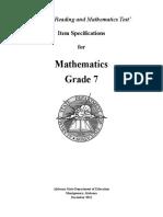 7th Grade ARMT- Item Specs.pdf
