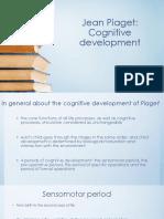Jean Piaget-cognitive development