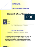 Standards-Based Curriculum