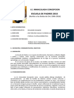 Plan ESC. DE PADRES 2015