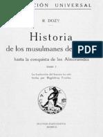 Historia de los musulmanes de E - Reinhart Dozy 4