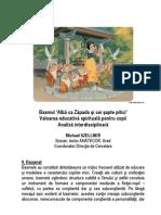 Basmul Alba CA Zapada Valoare Spiritual A - Michael SZELLNER - Anatecor 2006