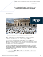 'O Vaticano é uma organização gay'_ o polêmico livro que diz revelar a corrupção e a hipocrisia na Igreja - BBC News Brasil