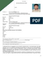 AULKO M.Tech(E&C) 2nd sem Registration Form