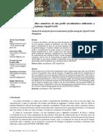 Análise numérica de um perfil aerodinâmico utilizando a Plataforma OpenFOAM