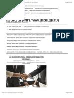 Las Mejores Estrategias para Atraer a tus Clientes Potenciales ? | Lee Chile Lee