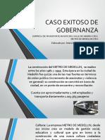 Caso Exitoso de Gestion - Metro de Medellin- Maria de los Angeles Serna