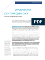 promote open data