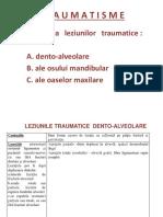 Parodontopatii date de traumatisme