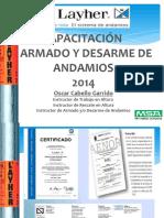 Capacitación Armado Desarme Andamios 2020