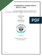 FINAL IPC (kINDS OF PUNISHMNET UNDER IPC)