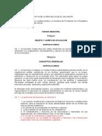 Código Municipal y sus reformas (actualizado)