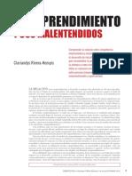 Rivera-Kempis - El emprendimiento y sus malentendidos