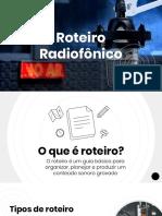 Apresentação sobre Roteiro Radiofonico