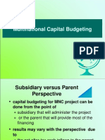 14-MNC CAPITAL BUDGETING