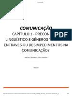 Comunicação 1º Unidade