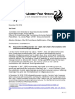 2019 11 20 Letter WMFN to CERD_Final Report on Canada's Human Rights Abuses (002)
