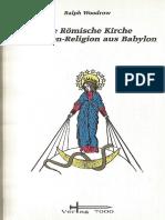 Babylon Mysterien Religion Ralph Woodrow Deutsch 1966 1ste Auflage