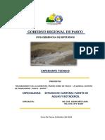 1.- Informe Estudio de Canteras, Fuentes de Agua y Botaderos. (1) (1)
