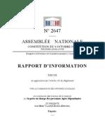 Rapport UMP sur la dépendance