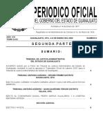 Gaceta Guanajuato 9 de Enero 2020