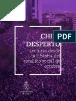 descarga el libro chile desperto lecturas desde la historia del estallido social de octubre pdf 58 mb.pdf