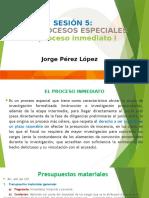 D.P.P 3 - 5 PROCESO INMEDIATO I