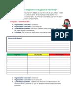 Evaluacion Diagnostica Oral Preescolar