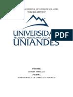 UNIVERSIDAD REGIONAL AUTONOMA DE LOS ANDES LIZ