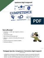 Competenze degli insegnanti