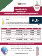 Becas Educativas Tlalnepantla 2019-2020