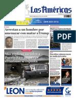 DIARIO LAS AMÉRICAS Edición digital del jueves 9 de enero de 2020