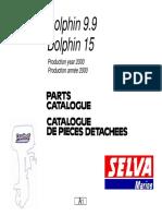 Dolphin 9.9 - Dolphin 15 Parts Manual '00