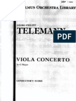 Telemann Altviool Concert in G Groot