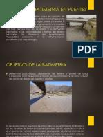 Estudio de Batimetria en Puentes