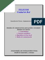 Interface de comunicaciones para gestión e inventario dinámico de entorno-rv02
