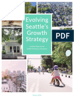 Seattle Planning Commission 2020 Growth Strategy White Paper