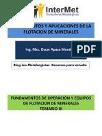 III - FUNDAMENTOS DE OPERACION Y EQUIPOS DE  FLOTACION.pdf
