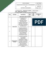Ejemplo Lista de Chequeo Inspección Sanitaria